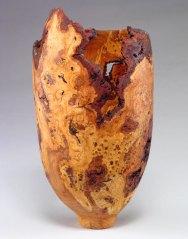 burl vase